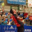 Der Kleinste musste es richten: Mizuki Oikawa führte den TSV Bad Königshofen zum dritten Saisonsieg gegen Jülich